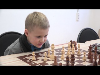 Краснов Багдан, 6 лет, турнир по шахматам в Перми