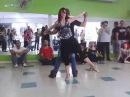 Workshop de Zouk 05 jun 2016 15h30 Kadu Pires Larissa Thaiane aula 1