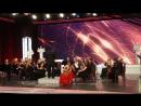 Прокопенко Дарья с симфоническим оркестром, Астурия, запись на ТВ
