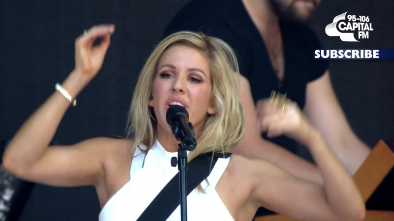Ellie Goulding Burn Summertime Ball 2014