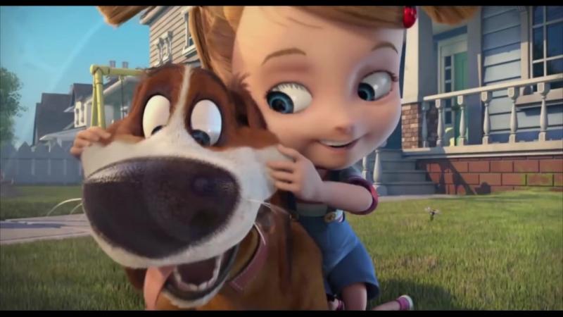 Большой собачий побег Ozzy дублированный трейлер премьера РФ 3 ноября 2016 2016 мультфильм Канада Испания 0