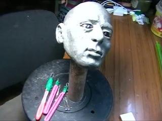 Шарнирная кукла из папье маше своими руками  2 часть - Туловище