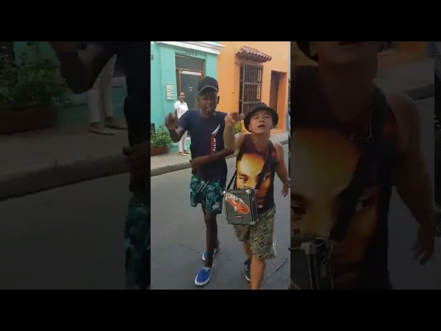 El mundo sorprendido con estos talentos colombianos Biggie y tupac YORDAY MARTINEZ