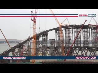Керченский мост 4 июля. Стройка века