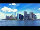 Walking from World Trade Center to Wall Street in Downtown Manhattan New York City 4K