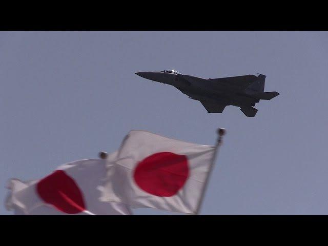 日の丸イーグル機動飛行 千歳基地航空祭2016 F-15J Eagle JASDF