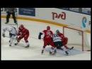 Первый гол Клинкхаммера в плей офф КХЛ Rob Klinkhammer first KHL playoffs goal