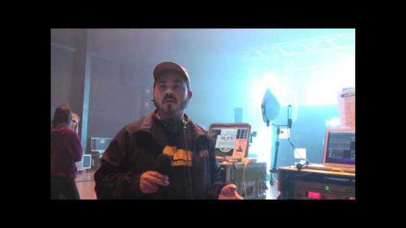 Chuck Knowledge, FOH Engineer for Nero Dizzee Rascal Talks RME - Synthax TV