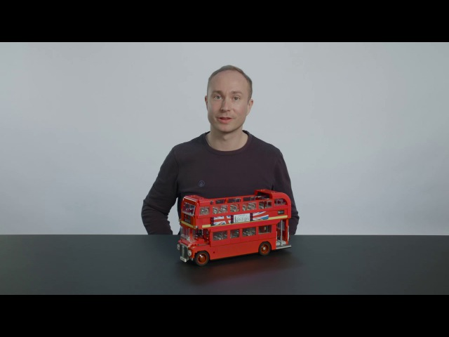 London Bus LEGO Creator Expert 10258 Designer Video