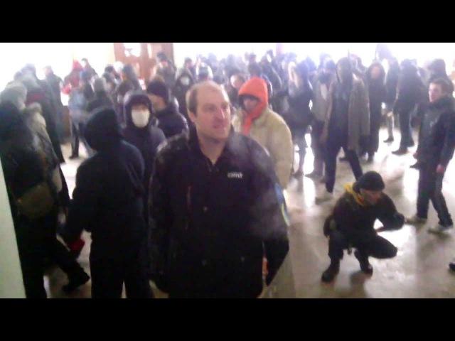 Штурм Вінницької обласної ради 25 січня