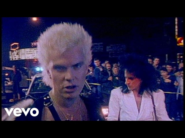 Billy Idol Don't Need A Gun Official Music Video