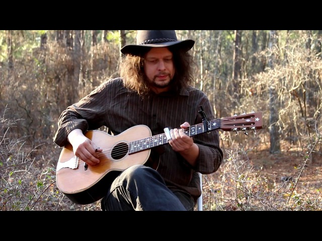 Crossroad Blues on Antique Parlor Guitar - Delta Blues - Edward Phillips