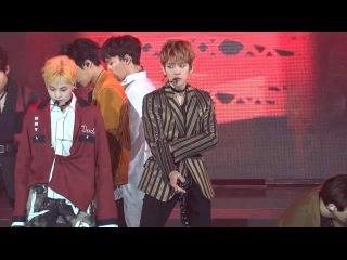 170222 Gaon Chart Music Awards, Monster+Lotto Baekhyun focus 백현