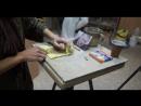 Мастер-класс по изготовлению барельефа В.В. Жириновского из мела