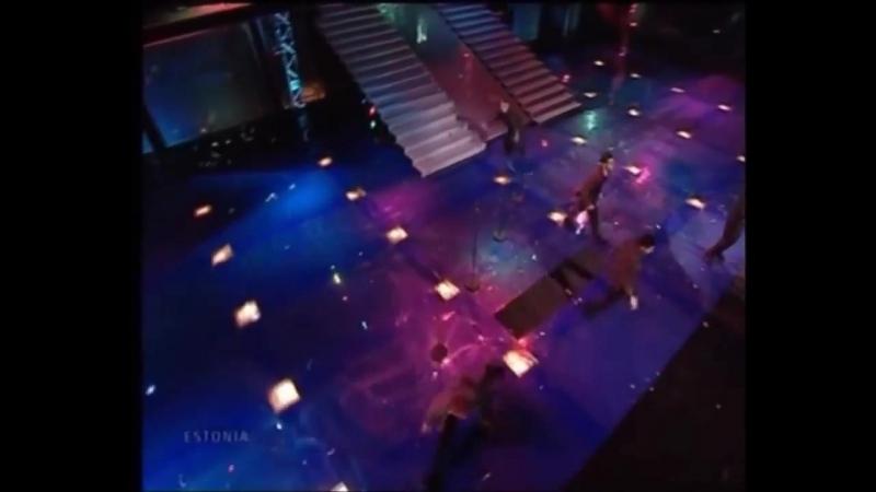 2001 Tanel Padar Dave Benton - Everybody (Эстония) (Eurovision - Евровидение 46)
