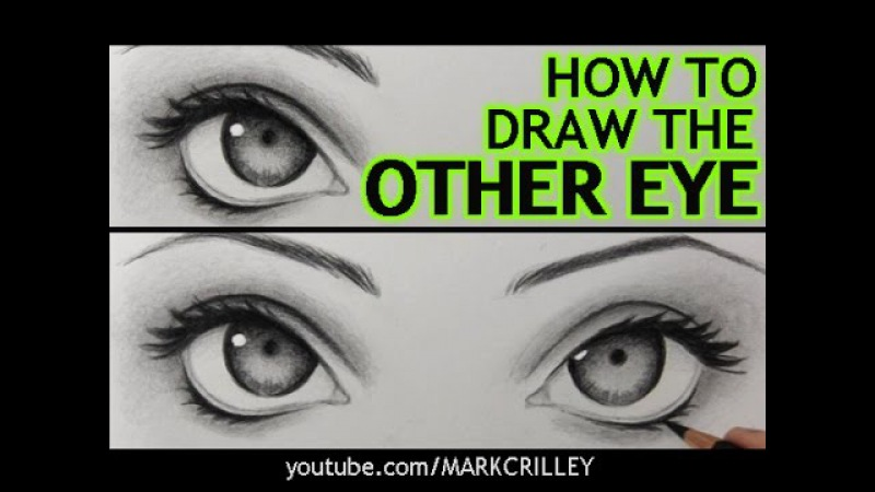 How to Draw The Other Eye (and Make It Match the First One)