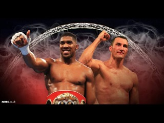 Wladimir Klitschko - Anthony Joshua SLOW MOTION
