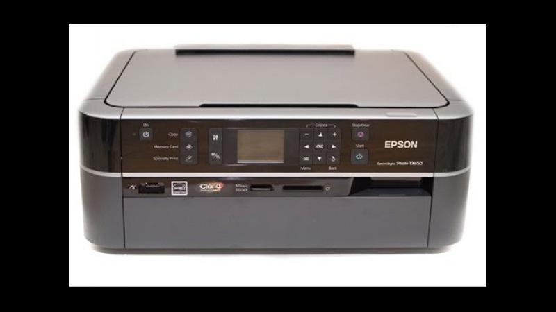 Промывка печатающей головки EPSON TX650 T50 R290