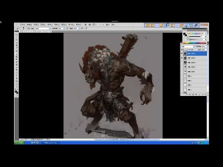 China Digital Painting - Monster painting - Fenghua Zhong Part 1/2