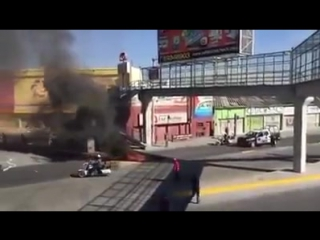 Looters in mexico shot after riots and protests follow massive increase in gas prices!