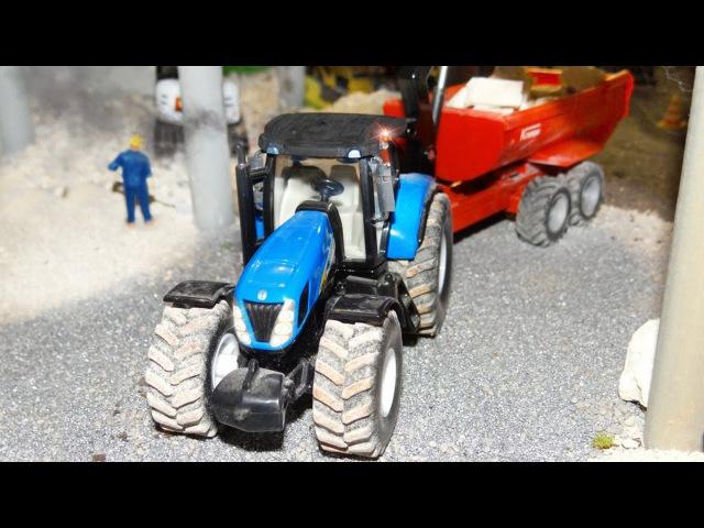 Bajki Pracowity Traktorki CZAS NA ŻNIWA Traktor dla dzieci po polsku