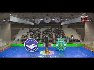 Taça da Liga   16/17   Meia-Final   Módicus 2-5 Sporting CP