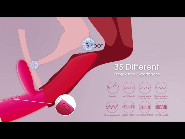 Trysta A Rolling Ball Vibrator for G Spot Stimulation