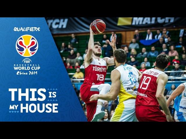 Ukraine - Turkey | FIBA Basketball World Cup 2019 - European Qualifiers