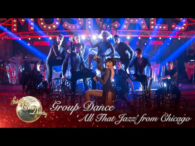 Group Dance 'All That Jazz' from Chicago Strictly Come Dancing 2016 Week 11