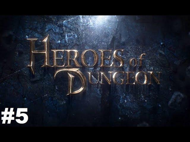 Heroes of the Dungeon 5 Gameplay Прохождение Android Проходим 2 главу и сражаемся на арене