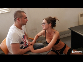 Tina kay (mmf threesome and creampie in the classroom with british teacher)[2017,brunette, creampie, cumshot, dp, anal,hd 1080p]