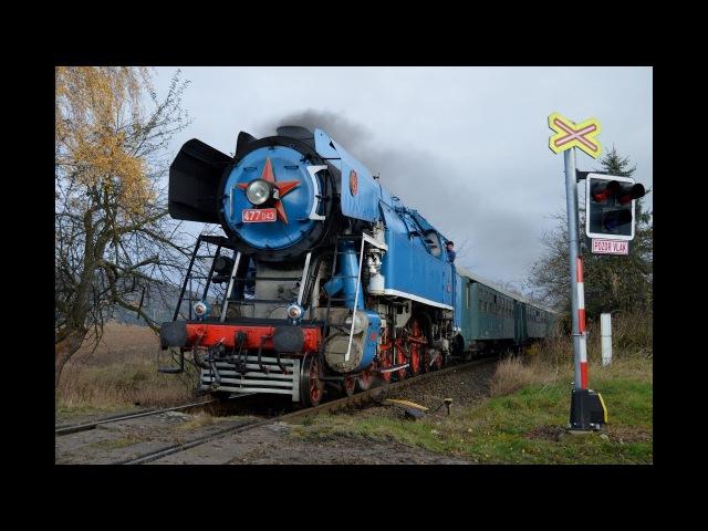 Parní vlaky na akci 150 let trati Bakov nad Jizerou - Česká Lípa 11.11.2017