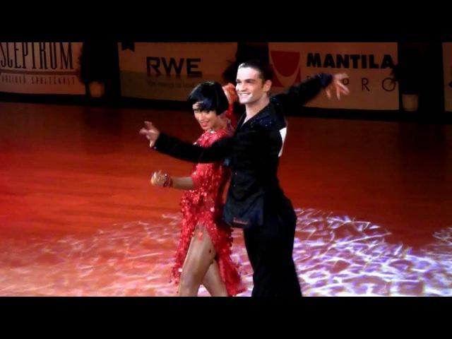 Nino Langella - Kristina Moshenskaya | Solo rumba | Brno Open 2012, WDSF int. open latin, final