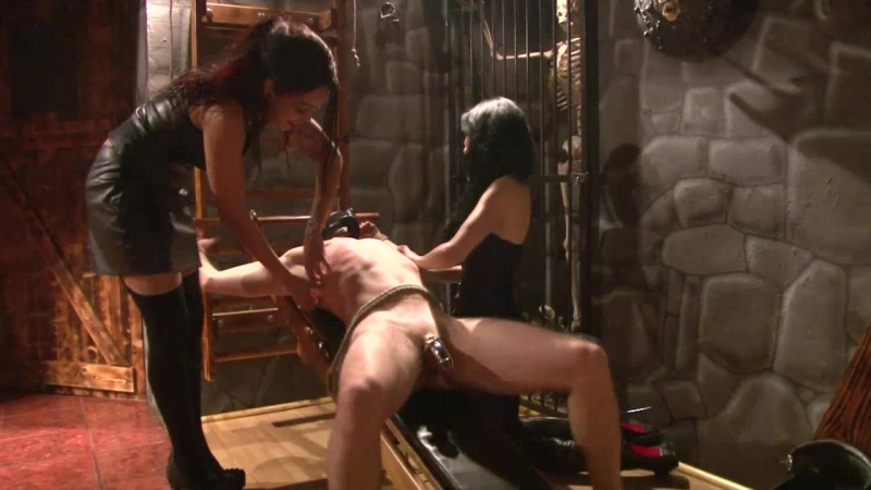 Mistress Blackdiamoond & Lady Alektra - Tickling by Two Ladies - Very Hot and Funny