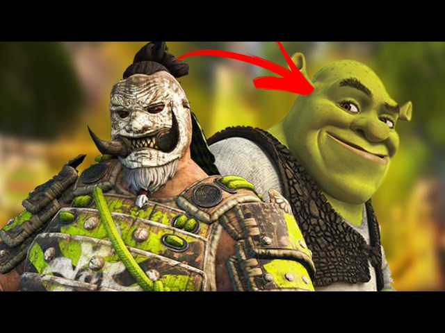 For Honor Shugoki Defends His Swamp