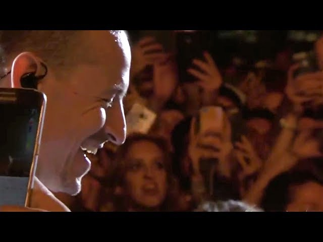 Linkin Park Crawling Acoustic Live at Rock Werchter 2017 High Quality