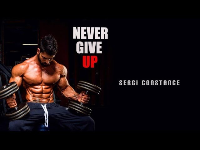 ЛУЧШАЯ СПОРТ МОТИВАЦИЯ 2017 СЕРЖИО КОНСТАНС FITNESS MOTIVATION SERGI CONSTANCE AESTHETIC