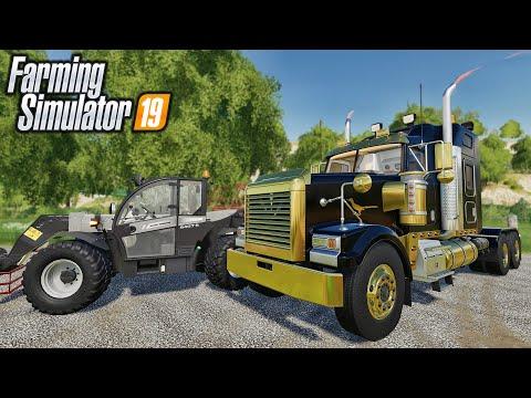New Mods Roadrunner Rainbow Exhaust Modded Telehandler 15 Mods Farming Simulator 19