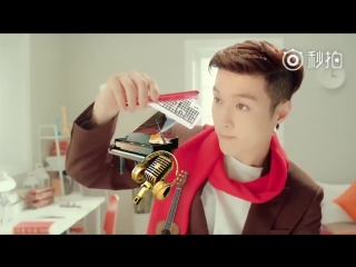 [video] 180126 lay @ huawei nova 2s 'lovesick red' chinese new year edition cf