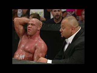 Wwe smack down 9th june 2005 - ringside: kurt angle & tazz