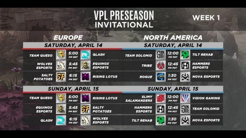 VPL Предсезон: Неделя 1