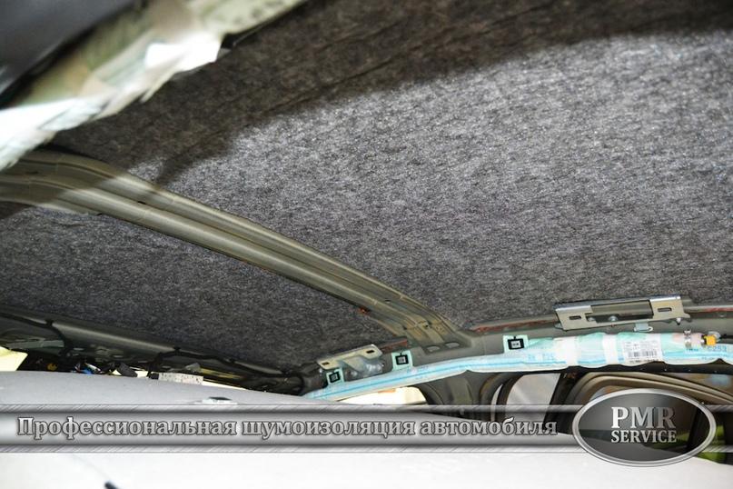 Шумоизоляция Mercedes Benz GLC, изображение №4