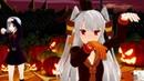 MMD Happy Halloween (Amatsukaze,Shimakaze,Asashio and Kasumi)
