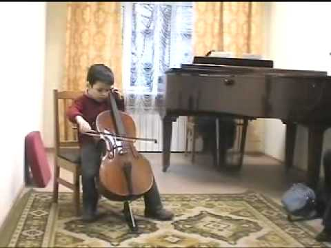 Piotr Okhotnikov 7 years Cello