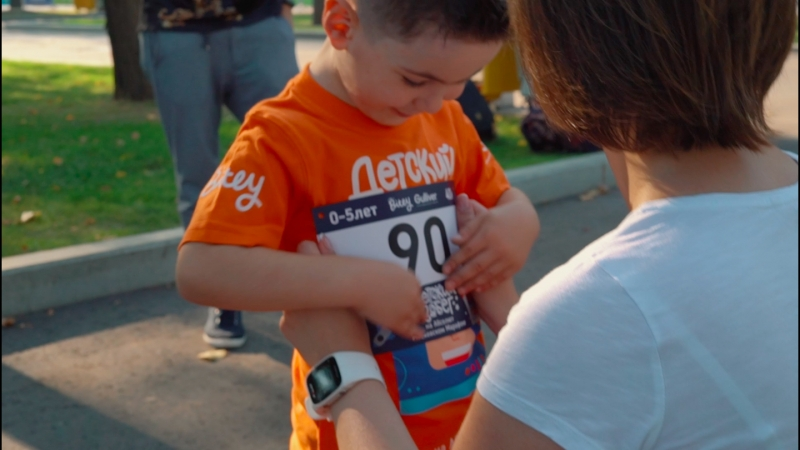 Детский забег Bitey на Московском марафоне