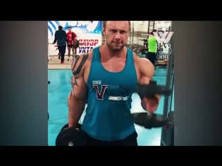 Big back ever in bodybuilding (russian monster)