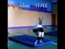 Мостик стоя с переворотом от Ани Зайцевой Студия Style хореограф Александра Аксенова