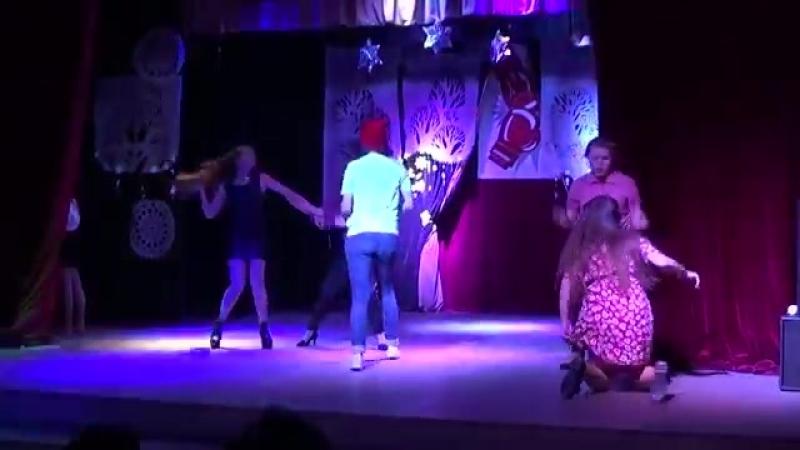 Театрализованная сценка Сельская дискотека СВУИиК
