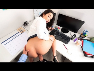 Karlee Grey - Naughty Office (NaughtyAmerica/24.05.2018) [BlowJob, Brunette, Natural Tits, POV, New Porn 2018]