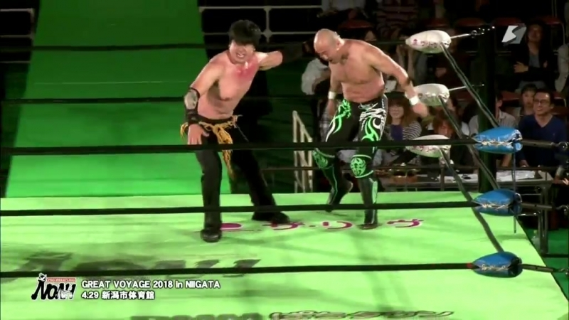 KENSO vs Mitsuya Nagai NOAH Great Voyage 2018 in Niigata